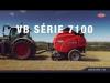 KUHN VB série 7100 : presses à chambre variable haute performance